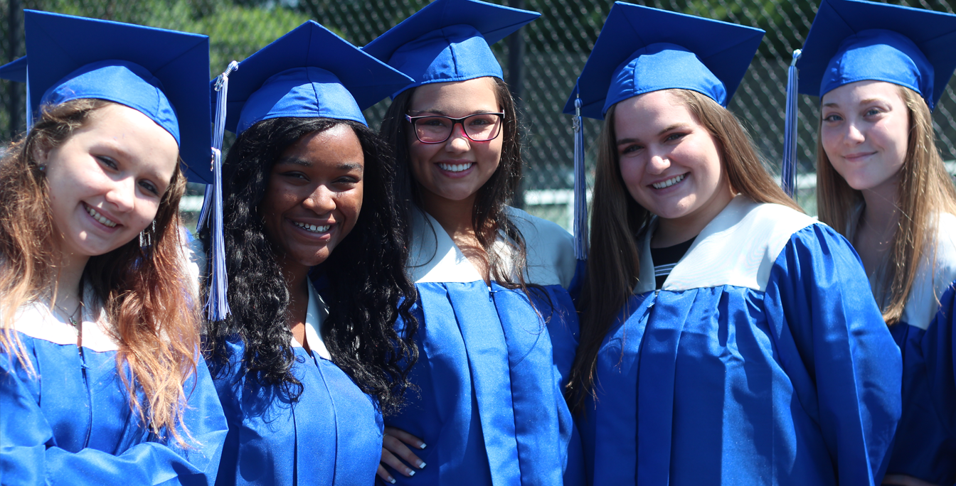 Four Chopticon High School Graduates