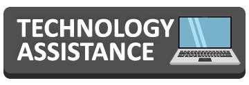 links to an online technology assisstance page