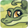 small button, cartoon drawing of alligator, links to GHES homepage