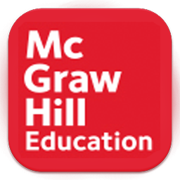 red with white text McGraw Hill Education. Click to access their site.